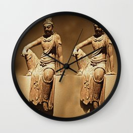 China Antiquities #14 Wall Clock