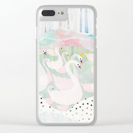 on parade Clear iPhone Case