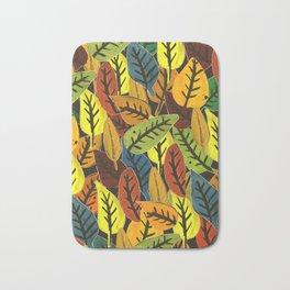 Fall Leaves Bath Mat