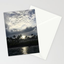 MORNING ON THE WATER Stationery Cards