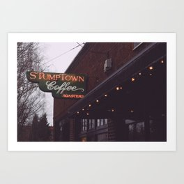 Stumptown Coffee - Portland, OR Art Print