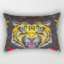 Guci Tiger Rectangular Pillow