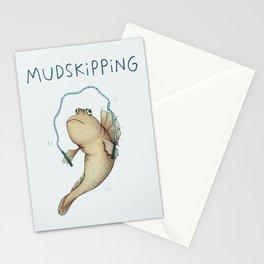 Mudskipping Stationery Cards
