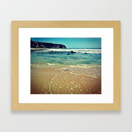 Clear Sea Framed Art Print