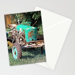 Old traditional Lindner tractor | conceptual photography Stationery Cards