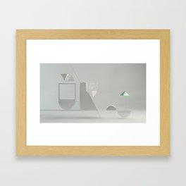 Geominis Framed Art Print