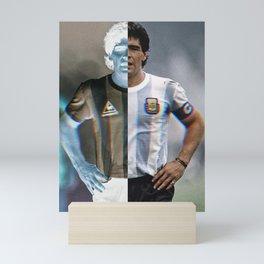 Maradona Mini Art Print