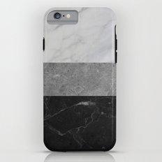 Marble - White, Grey, Black iPhone 6s Tough Case