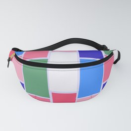 Colored Tiles Version 2 Fanny Pack