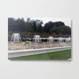 Longwood Gardens Autumn Series 418 Metal Print
