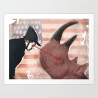 american Art Prints featuring American by Nolan O'Malley