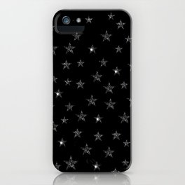 Black Stars iPhone Case