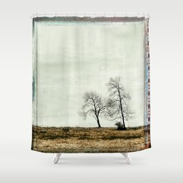 Trees Without Leaves Shower Curtain