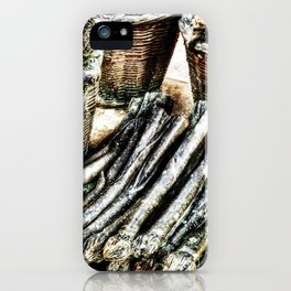 vegetables from steel iPhone Case