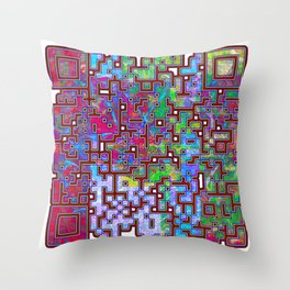 Conscience Doth Make Cowards Of Us All Throw Pillow