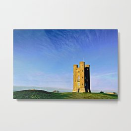 Broadway Tower, colour version. Metal Print