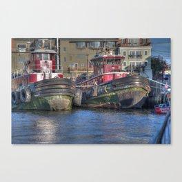 Portsmouth Tug Boats Canvas Print