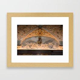 Fight in Hillerod, Frederiksborg castle, Denmark Framed Art Print
