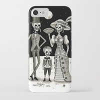 family iPhone & iPod Cases featuring Family Portrait of the Passed by Jon MacNair
