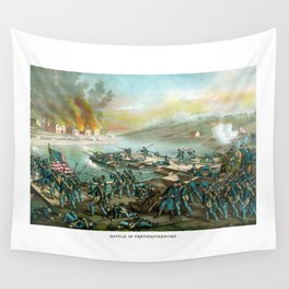Battle of Fredericksburg -- Civil War Wall Tapestry