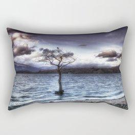 Sunset Tree Rectangular Pillow