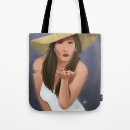 Blowkiss Tote Bag