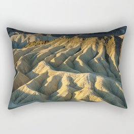 Death Valley - Zabriskie Point Rectangular Pillow