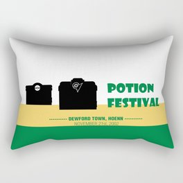 Dewford Town Potion Festival Rectangular Pillow