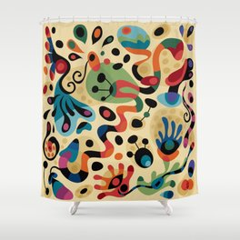 Wobbly Life Shower Curtain