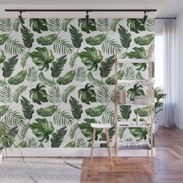 Tropical Leaf Wall Mural