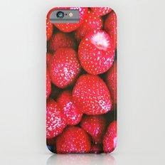 Strawberries iPhone 6s Slim Case