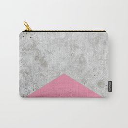 Concrete Arrow Pink #329 Carry-All Pouch