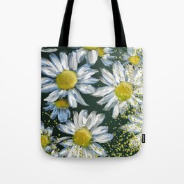 Just Crazy For Daisies Tote Bag