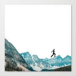 walking high Canvas Print