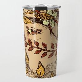 Dead inside, all pretty on the outside Travel Mug