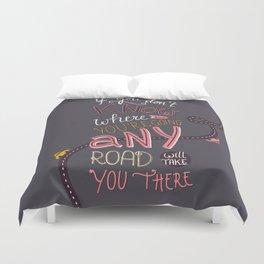 Any Road Duvet Cover