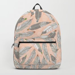 desert feathers Backpack