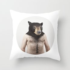 Therianthrope - Bear Throw Pillow