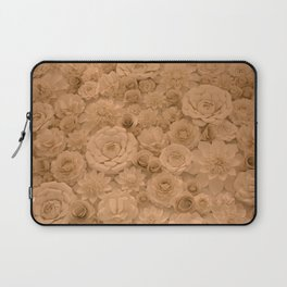 Wall of Flowers Laptop Sleeve