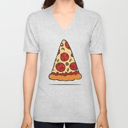 Zen Pizza Unisex V-Neck