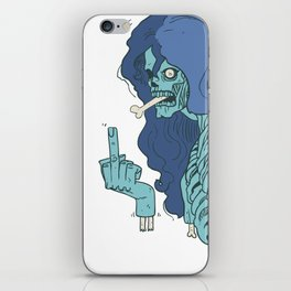 Ebeni zombi iPhone Skin