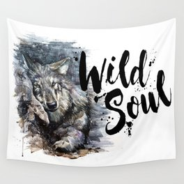 Wolf Wild Soul Wall Tapestry