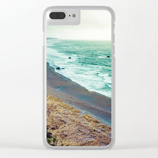 Good Morning Beach Clear iPhone Case