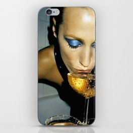 Champagne Slurp iPhone Skin