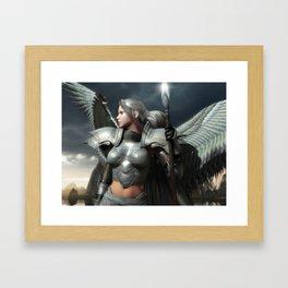 Heaven's Spear Framed Art Print