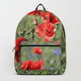 poppy flower no9 Backpack