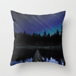 Lost Lake Star Trail Throw Pillow