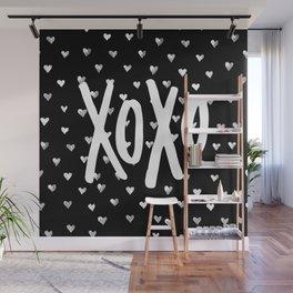 XOXO Wall Mural
