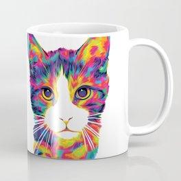 The Rainbow Kitten Strut Coffee Mug