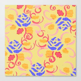 zakiaz summer roses Canvas Print